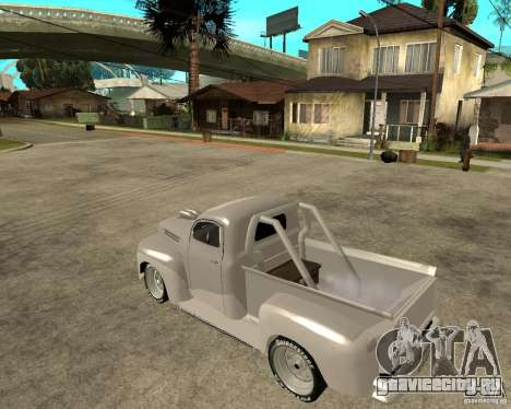 Ford F1 Pickup Hotrod 49 для GTA San Andreas вид слева