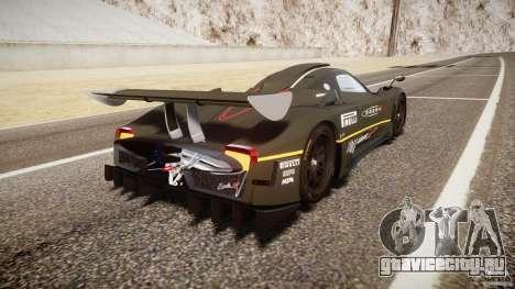 Pagani Zonda R 2009 для GTA 4 вид сверху