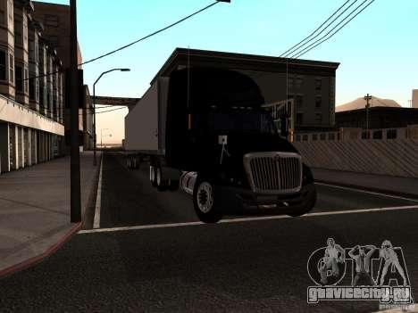 International Prostar для GTA San Andreas вид сзади слева