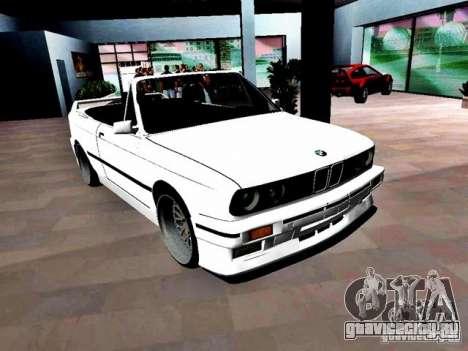 BMW M3 E30 Cabrio для GTA Vice City вид справа
