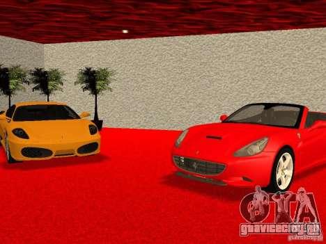 Новый Автосалон Ferrari в Сан Фиеро для GTA San Andreas девятый скриншот