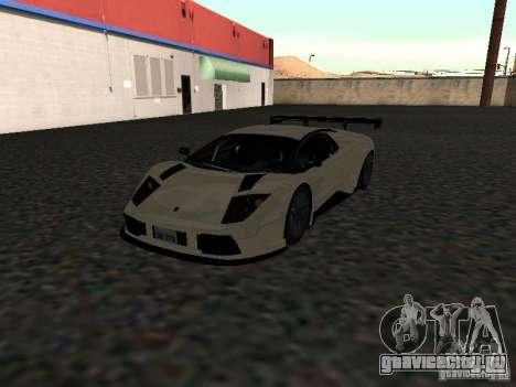 Lamborghini Murcielago R-GT для GTA San Andreas вид справа