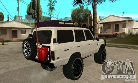 Toyota Land Cruiser 70 1993 Off Road Samurai для GTA San Andreas вид справа