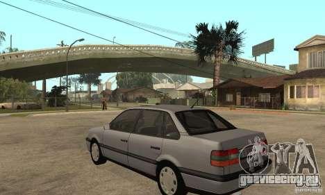Volkswagen Passat B4 для GTA San Andreas вид сзади слева