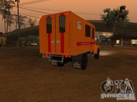 Газ 3309 Техпомощь для GTA San Andreas