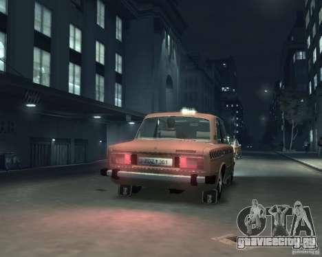 ВАЗ 2106 Такси для GTA 4 вид справа