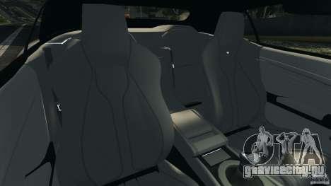 Aston Martin DBS Volante [Final] для GTA 4 вид изнутри