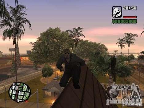 Jason Voorhees для GTA San Andreas четвёртый скриншот