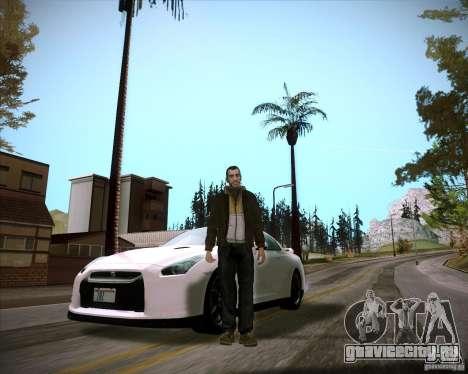 ENBSeries by slavheg для GTA San Andreas третий скриншот