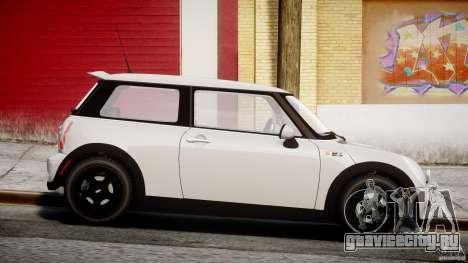 Mini Cooper S 2003 v1.2 для GTA 4 вид изнутри