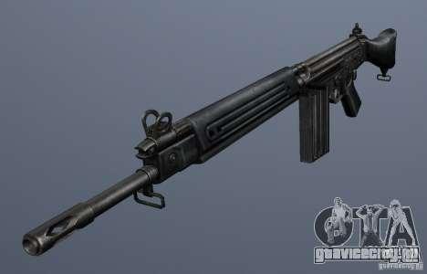 FN FAL для GTA San Andreas второй скриншот