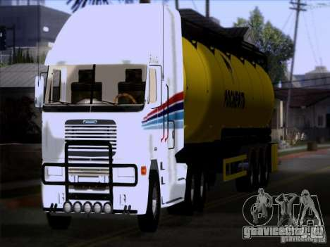Freightliner Argosy Skin 3 для GTA San Andreas вид сзади