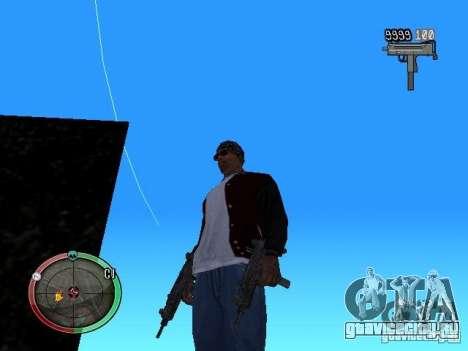 Изменение стиля стрельбы из Узи и Обреза для GTA San Andreas четвёртый скриншот