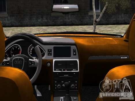 Audi Q7 V12 TDI Quattro Final для GTA 4 вид сбоку