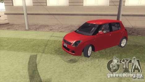 Suzuki Swift versión Chilena для GTA San Andreas