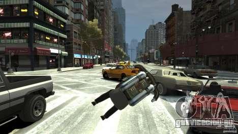 Jetpack для GTA 4 вид сзади