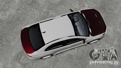 Mitsubishi Lancer Evolution X ToneBee Designs для GTA 4 вид справа