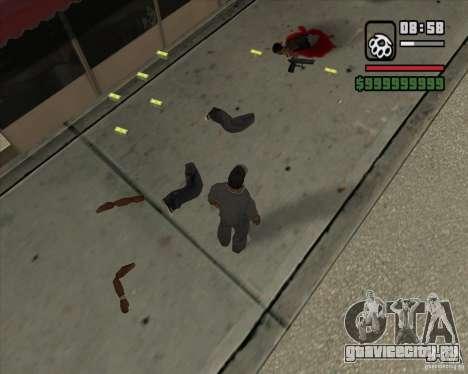 Real Ragdoll Mod Update 2011.09.15 для GTA San Andreas шестой скриншот