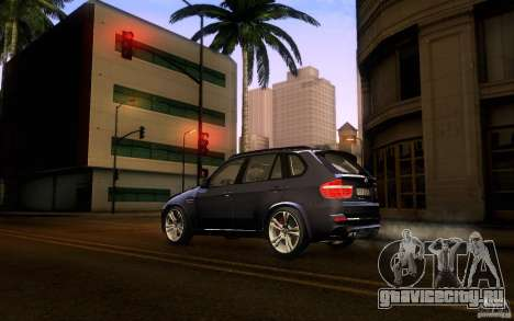 BMW X5M  2011 для GTA San Andreas вид слева