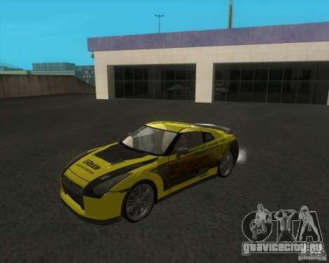 Nissan GTR35 для GTA San Andreas