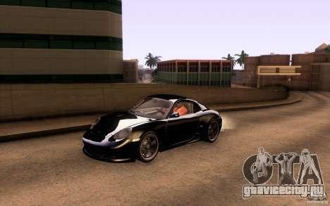 Ruf RK Coupe V1.0 2006 для GTA San Andreas вид снизу