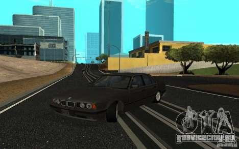 BMW 525 (E34) для GTA San Andreas вид слева