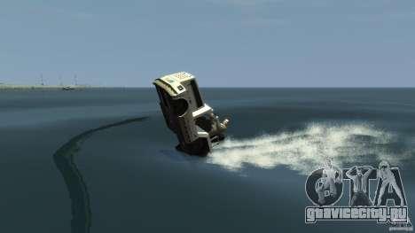 Airtug boat для GTA 4 вид сзади