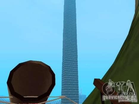 Остров(Mounth Island On The Water) для GTA San Andreas третий скриншот