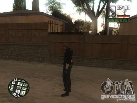 Wesker из RE5 для GTA San Andreas шестой скриншот
