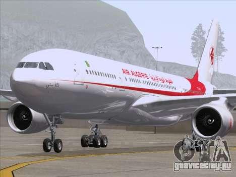Airbus A330-203 Air Algerie для GTA San Andreas вид изнутри