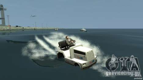 Airtug boat для GTA 4 вид слева