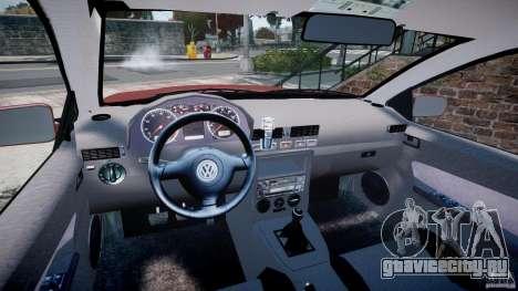 Volkswagen Bora для GTA 4 вид сзади