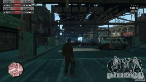 First Person Shooter Mod для GTA 4 десятый скриншот