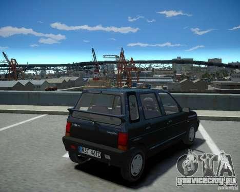 Daewoo Tico SX 1996 для GTA 4 вид слева