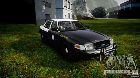 Ford Crown Victoria 2003 Florida CVPI [ELS] для GTA 4 вид сзади