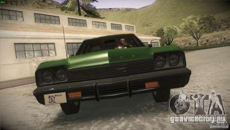 Dodge Monaco для GTA San Andreas вид сверху