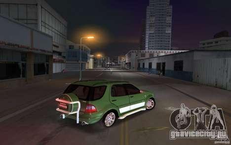Mercedes-Benz ML55 Demec для GTA Vice City вид справа