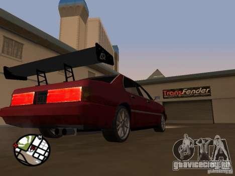 Новые запчасти для тюнинга для GTA San Andreas шестой скриншот