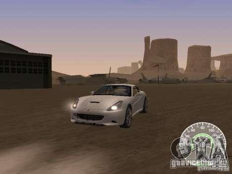 Ferrari California v1 для GTA San Andreas