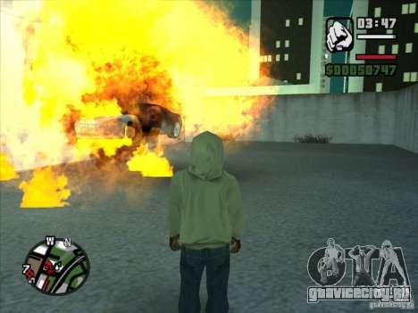 Дым из под колес, как в NFS ProStreet для GTA San Andreas пятый скриншот
