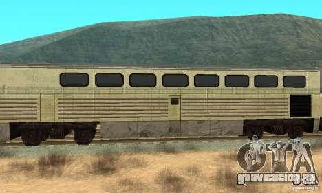 New Streak Skin для GTA San Andreas вид сзади слева