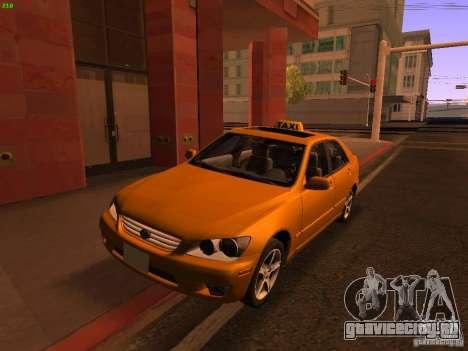 Lexus IS300 Taxi для GTA San Andreas
