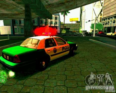 Ford Crown Victoria 2003 Police Interceptor VCPD для GTA San Andreas вид справа