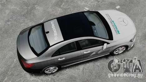 Mercedes-Benz CLA 250 2014 для GTA 4 вид справа