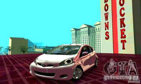 Toyota Aygo V1.0 для GTA San Andreas