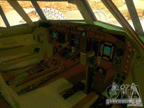 Boeing E-767 для GTA San Andreas вид сверху