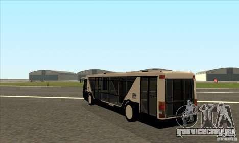 Neoplan Airport bus SA для GTA San Andreas вид сзади слева