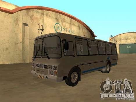 ПАЗ-4234 для GTA San Andreas вид сзади слева