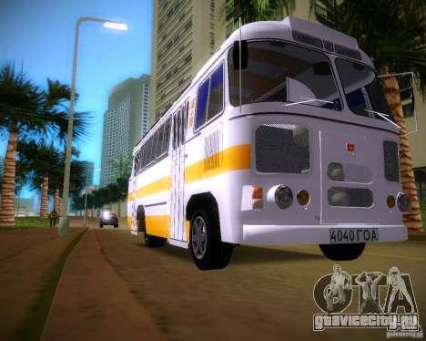 ПАЗ-672 для GTA Vice City вид слева