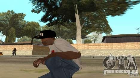 Кепка 228 для GTA San Andreas третий скриншот